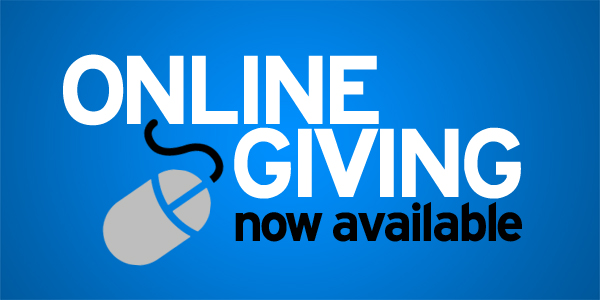 Online Giving is now available Opens in new window